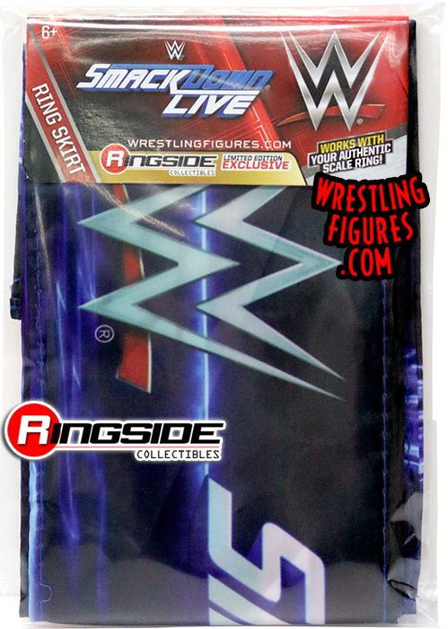 Smackdown Live Ring Skirt Ringside Collectibles