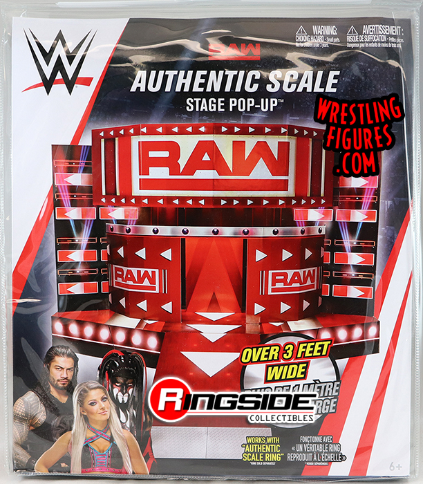 Raw Entrance Stage Pop Up Wwe Toy Wrestling Playset By