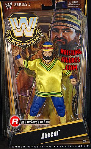 Akeem Wwe Legends 5 Ringside Collectibles