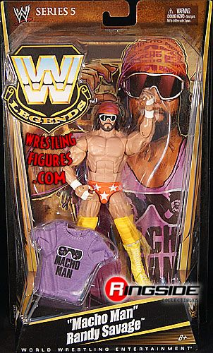 Randy Savage Wwe Legends 5 Ringside Collectibles