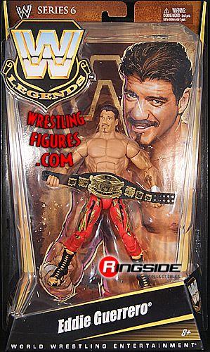Eddie Guerrero Wwe Legends 6 Ringside Collectibles
