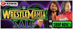 Wrestlemania Sale at RINGSIDE!