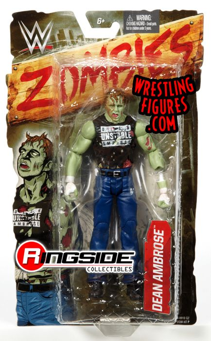 Dean Ambrose Wwe Zombies 1 Ringside Collectibles