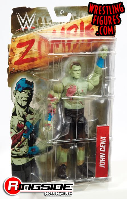 John Cena Wwe Zombies 1 Wwe Toy Wrestling Action Figure