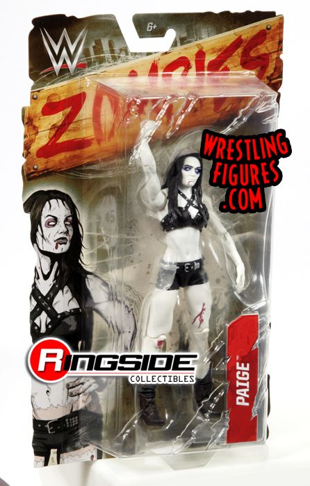 Paige Wwe Diva Wwe Zombies Wwe Toy Wrestling Action