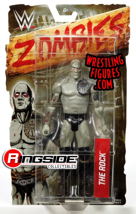The Rock Wwe Zombies 1 Wwe Toy Wrestling Action Figure
