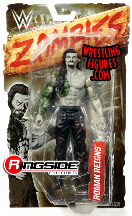Roman Reigns Wwe Zombies Wwe Toy Wrestling Action Figure