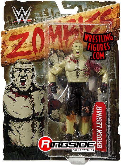 Brock Lesnar Wwe Zombies Series 2 Wwe Toy Wrestling