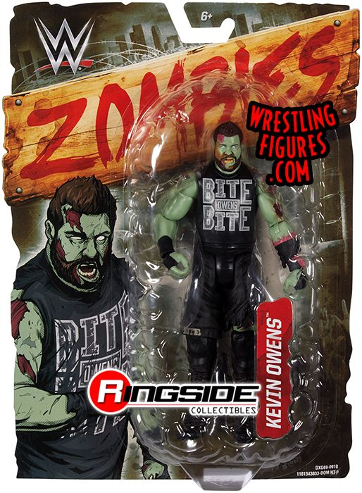 WWE ZOMBIES BROCK LESNAR STONE COLD STEVE AUSTIN SETH ROLLINS KEVIN OWENS NEW