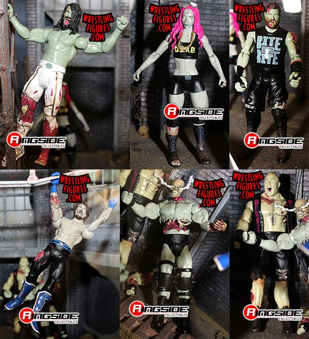 Wwe Zombies Series 2 Toy Wrestling Action Figures By