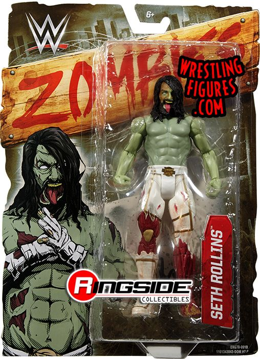 Seth Rollins Wwe Zombies Series 2 Wwe Toy Wrestling