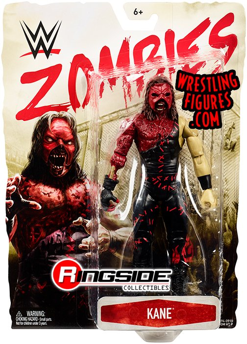 Kane Wwe Zombies Series 3 Wwe Toy Wrestling Action